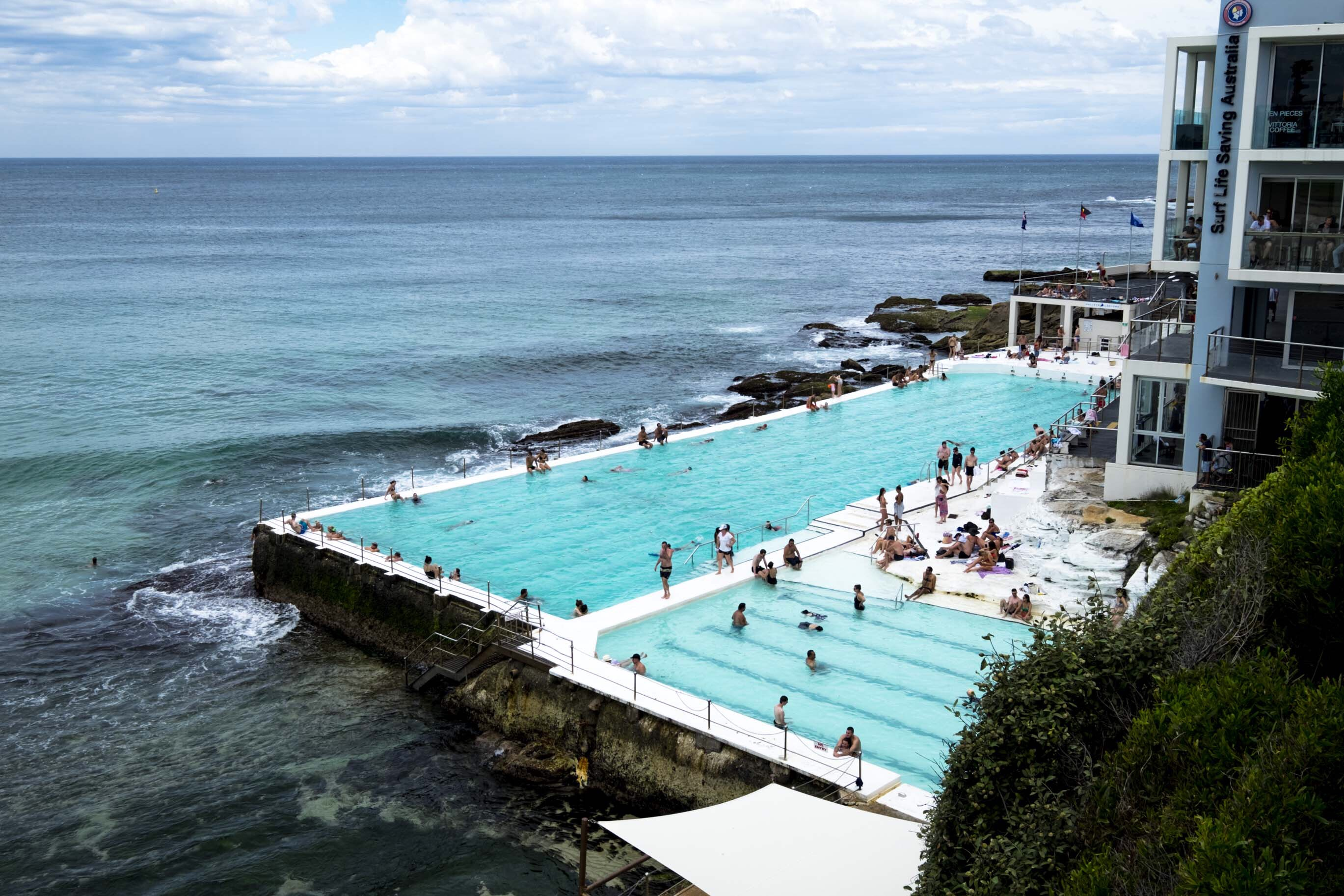 Australie: bondi beach pool