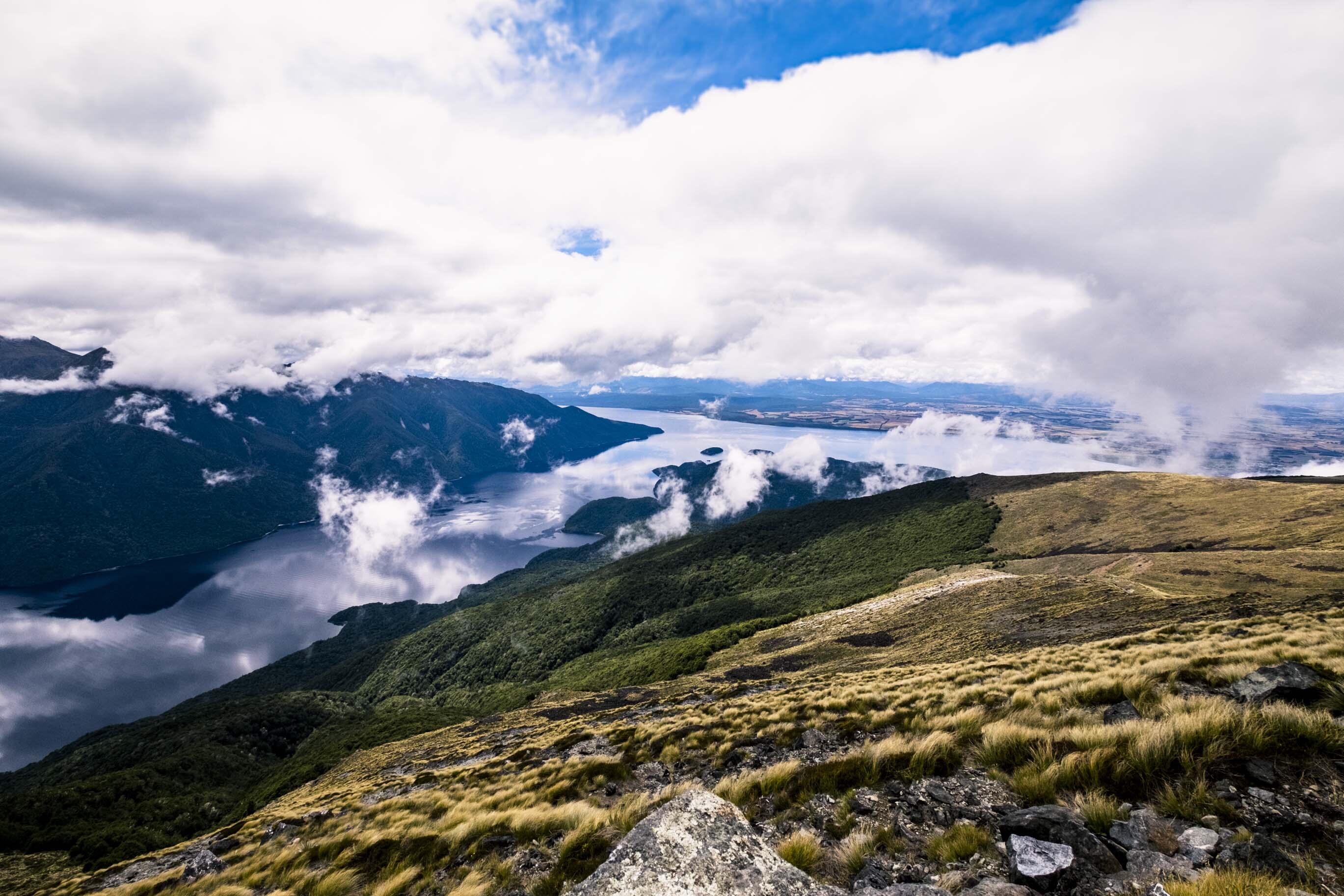 NZ: Lake Te Anau