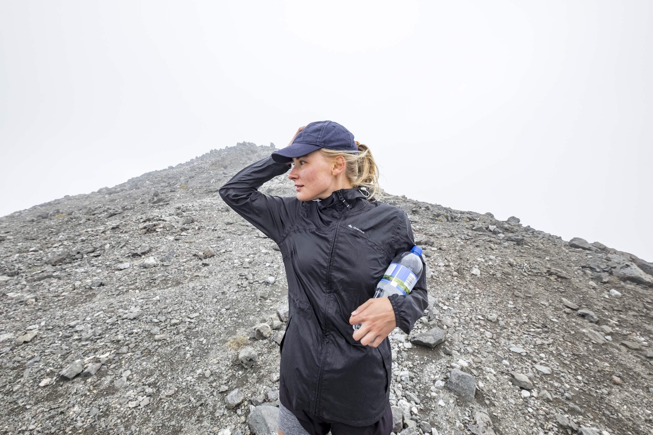 NZ: Bibberend op de top van Mount Luxmore